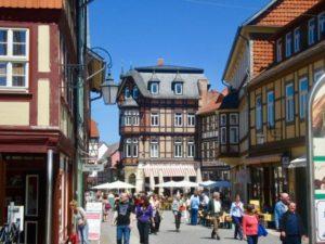 Tagestour Harz - Einkaufstraße Wernigerode