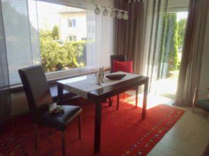 fewo braunlage tür zur terrasse wohnzimmer