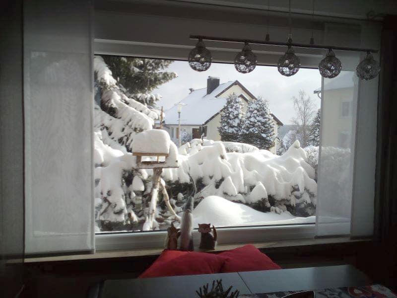 Winter in der Ferienwohnung